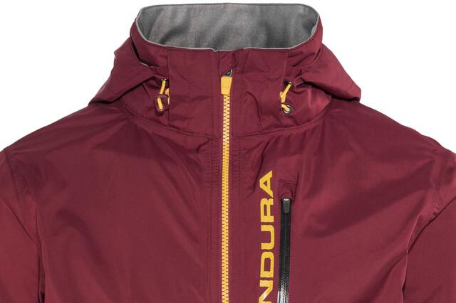 Endura Singletrack II Jacket Herre claret | Gode tilbud hos